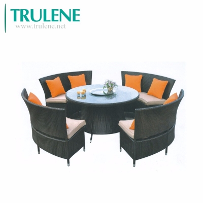 Garden Poly Wicker Rattan Furniture Outdoor Dining Setting Table And Chairs Lighting Supplier Construction Supplier Wholesale Lighting Lighting Manufacturer