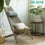 outdoor garden furniture leisure solid wood retro sling chair