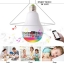 Smart Remote Control RGB LED music Bulb Light Bluetooth Battery Operated led light Speaker Bulb