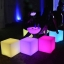 Waterproof Colorful Fluorescent Cafe Patio RGB Outdoor Led Bar Furniture
