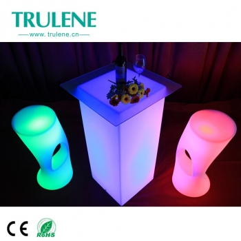 LED table furniture LED High Cuboid LED bar table led bar furniture new design RGB