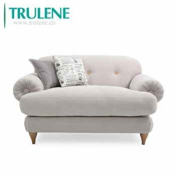 TL-2B111 Nordic Luxury single double Comfortable Fabric velvet sofa couch living room sofa modern