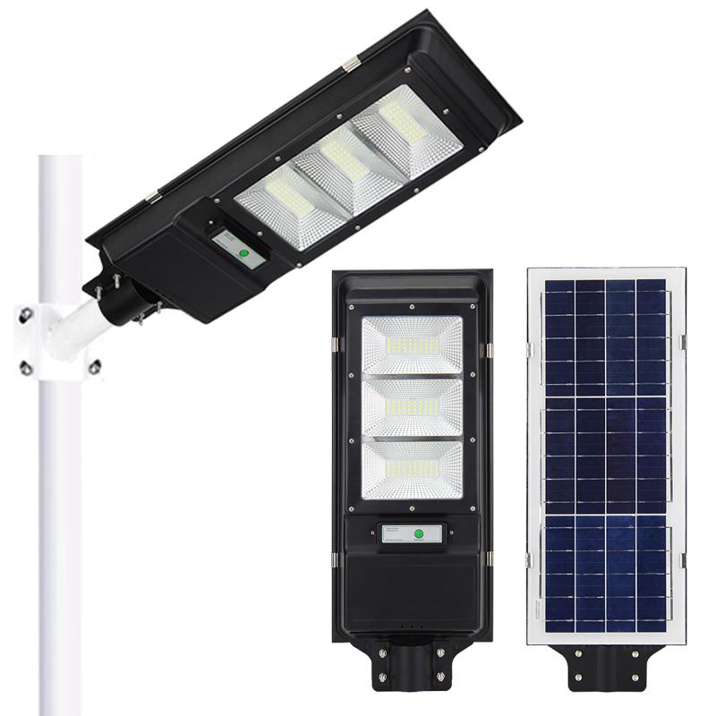 Solar Lights 5730 LED All In One ABS 200W Solar Street light outdoor 6v smd modern high power